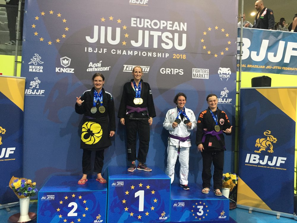Coach Kim 2018 IBJJF European Weight and Absolute Champion