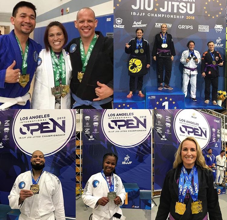 Brazilian Jiu Jitsu Corona Competition team