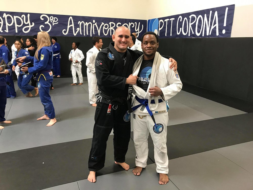 Brazilian jiu jitsu blue belt