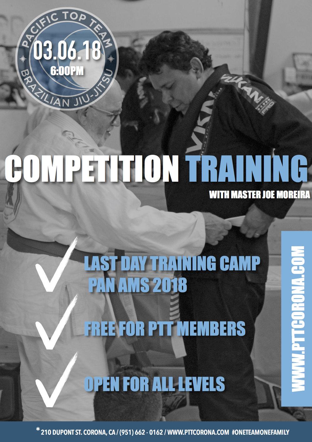 master Joe Moreira super class