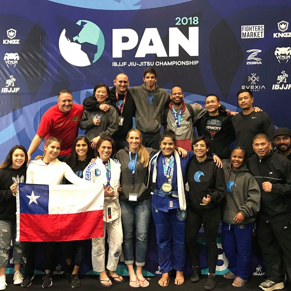 PTT Corona Team at Pan Ams!! Thank you everyone that spent 2 long days supporting!!