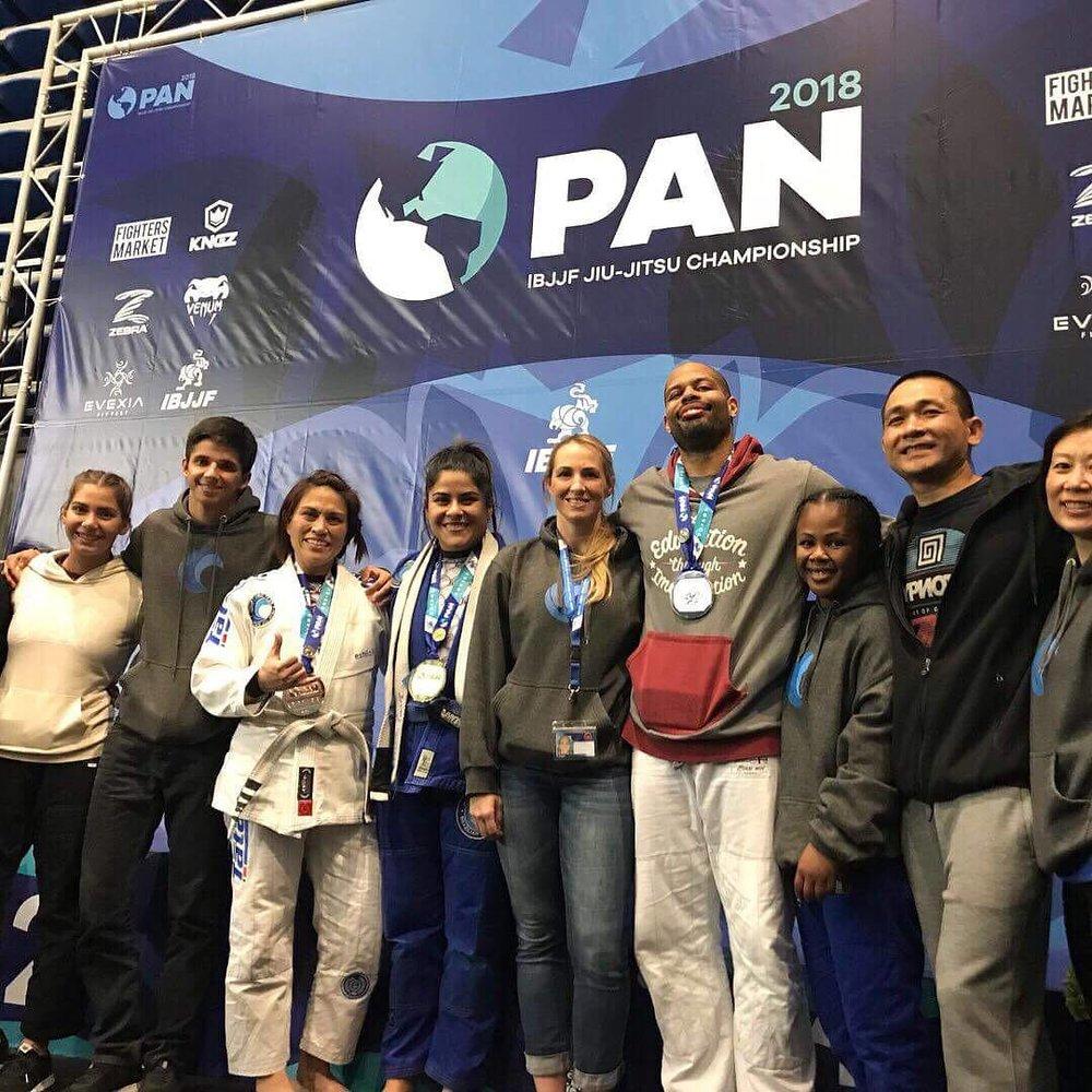 PTT Competitors at IBJJF Pan Ams. Bren Center, Irvine