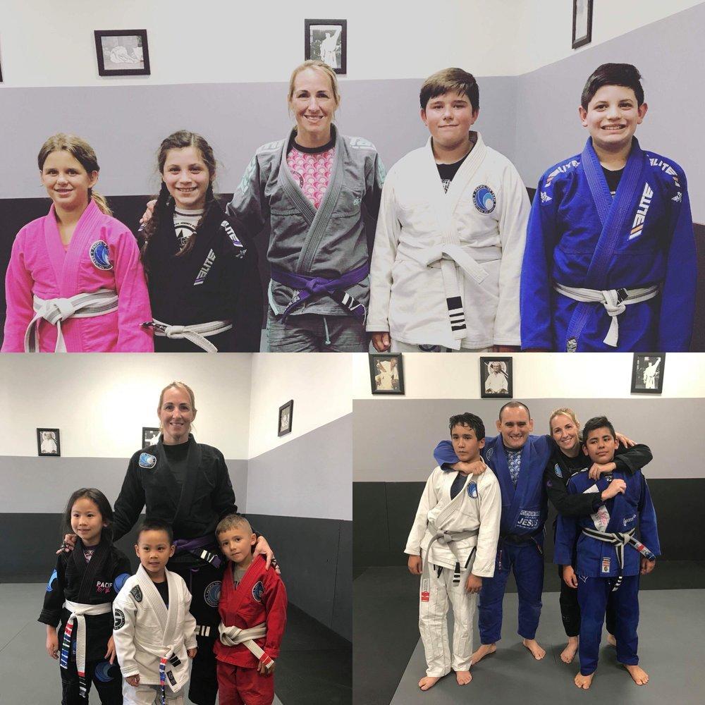 kids Brazilian Jiu jitsu corona