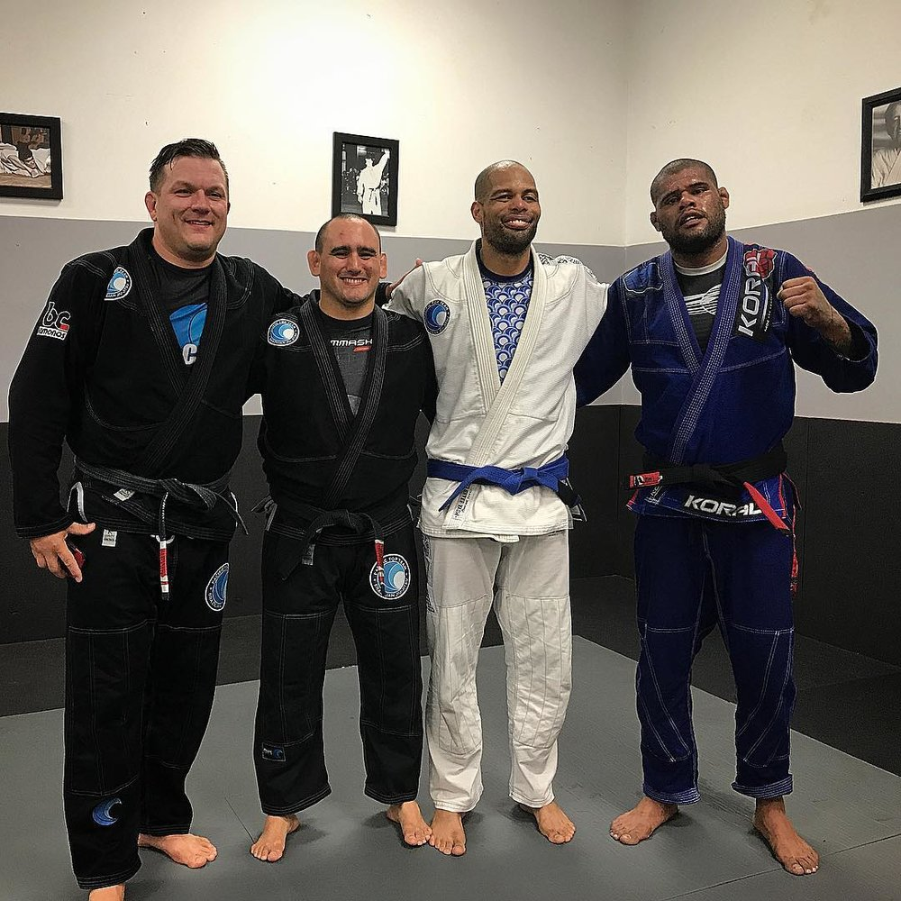 Professor Jorden, Professor JP, Steven and Professor Kitner at Pacific Top Team Corona