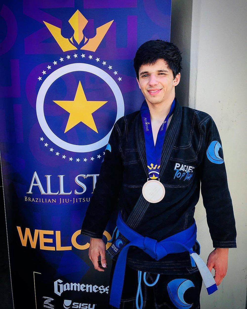 Brazilian jiu jitsu champion corona