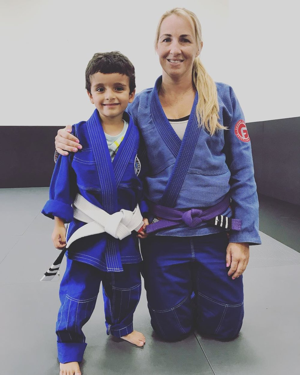 well deserved jiu jitsu promotion in corona