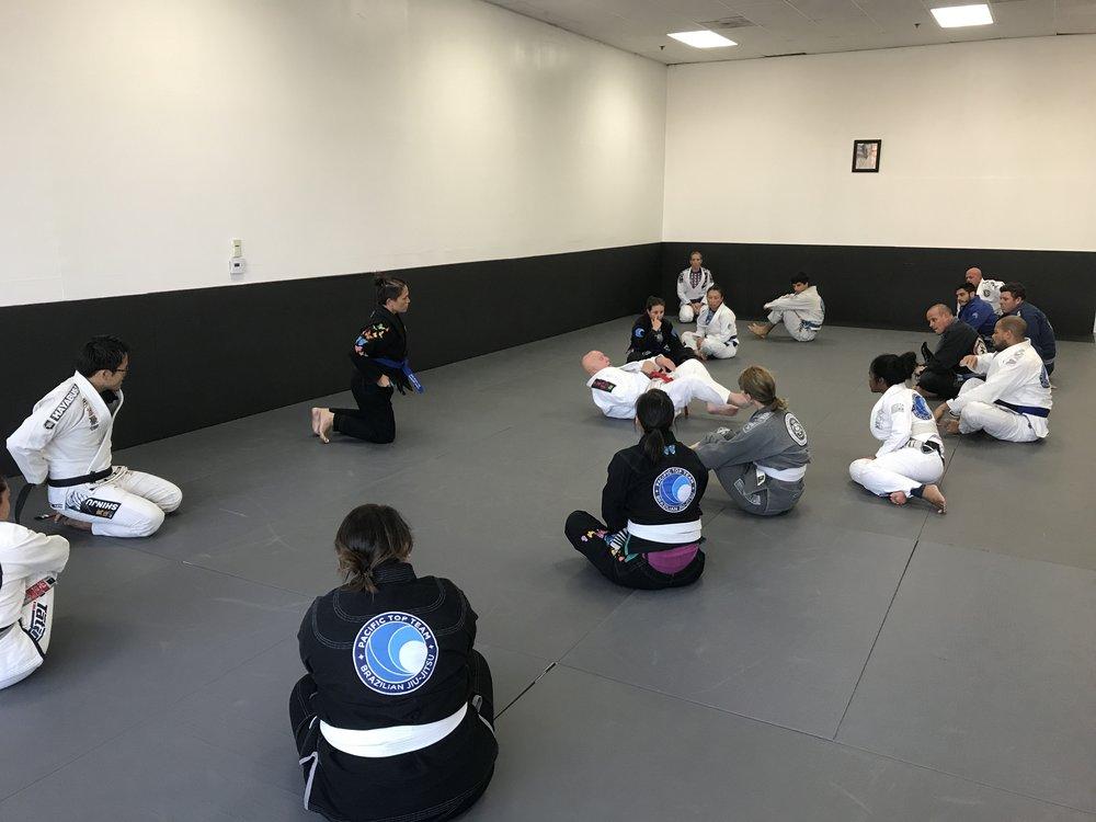 GrandMaster Francisco Mansor Jiu-Jitsu Seminar in Corona