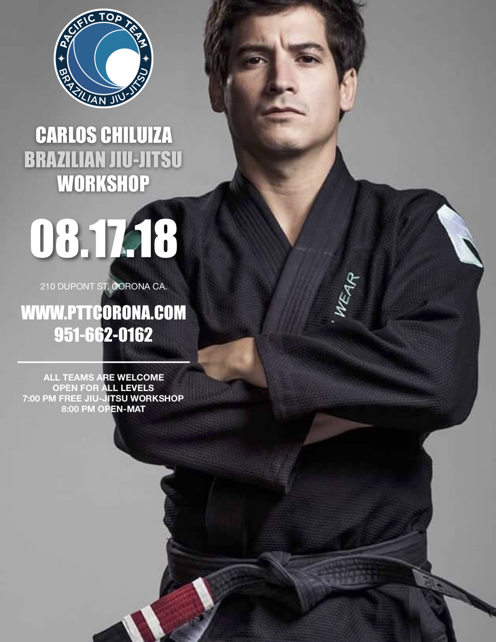FREE JIU JITSU WORKSHOP IN CORONA