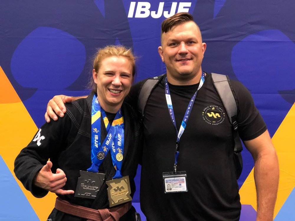 Sarah Brown Belt Master Worlds Champion