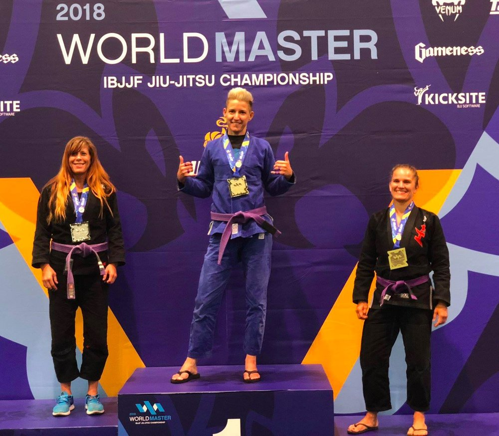 Purple Belt Master Worlds Champion 2018