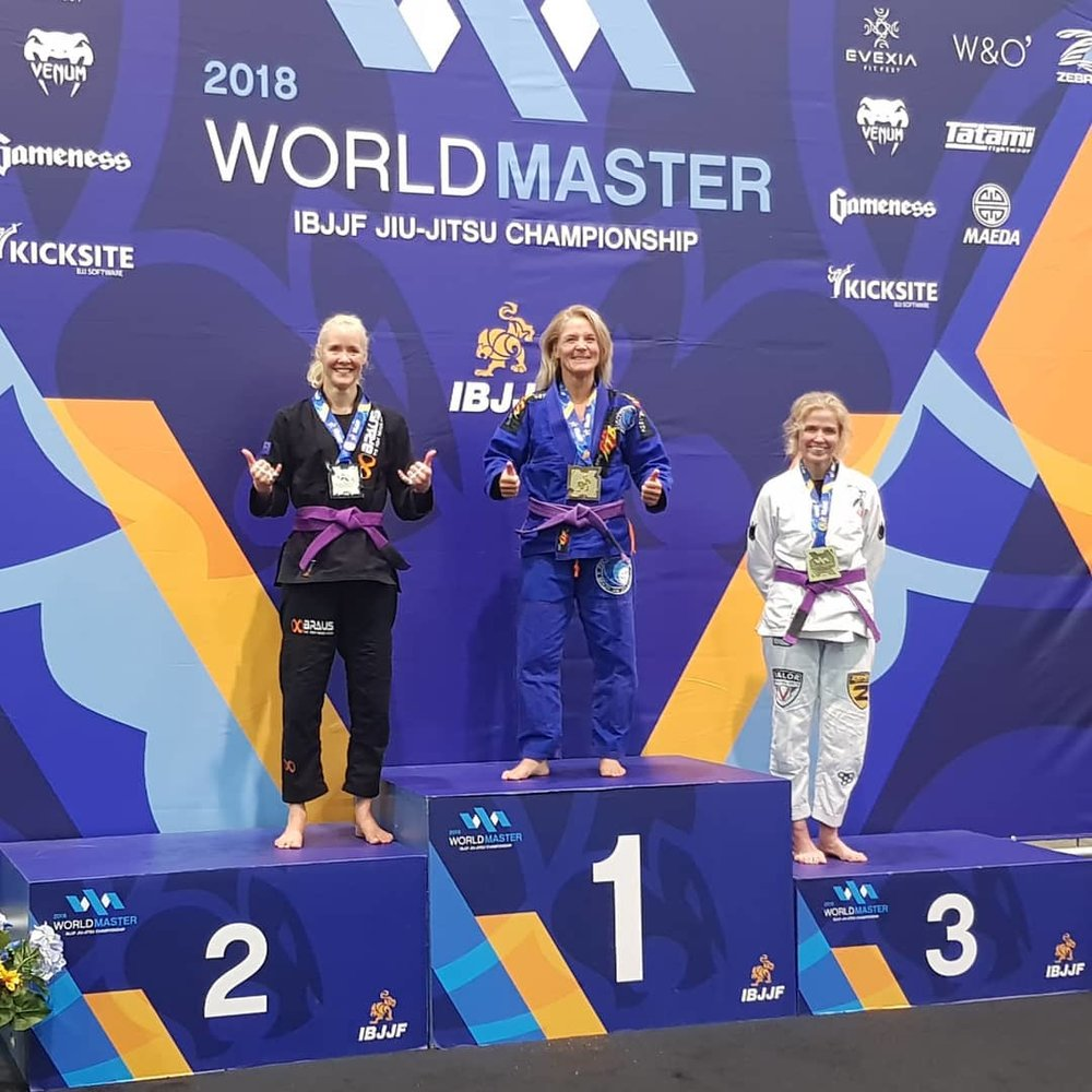purple belt world champion