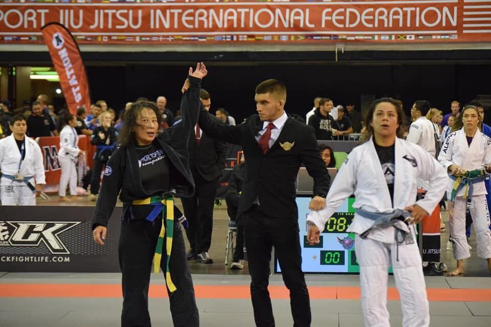 coach gina worlds jiu jitsu championship