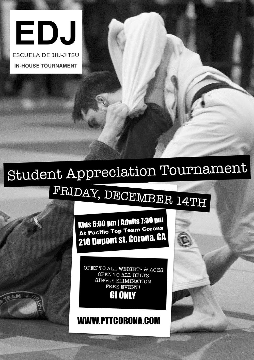IN HOUSE jiu jitsu championship