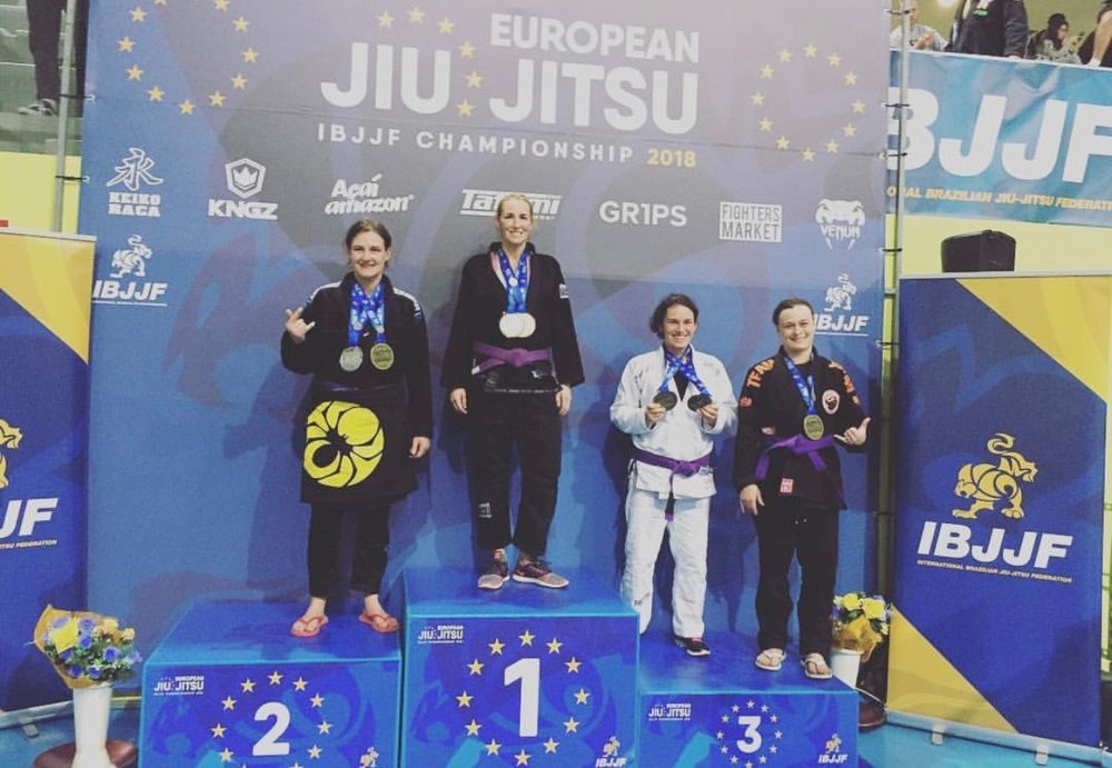 ibjjf European champion kim bowser