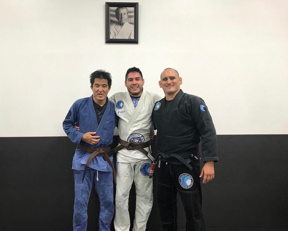 brown belt jiu jitsu promotion corona