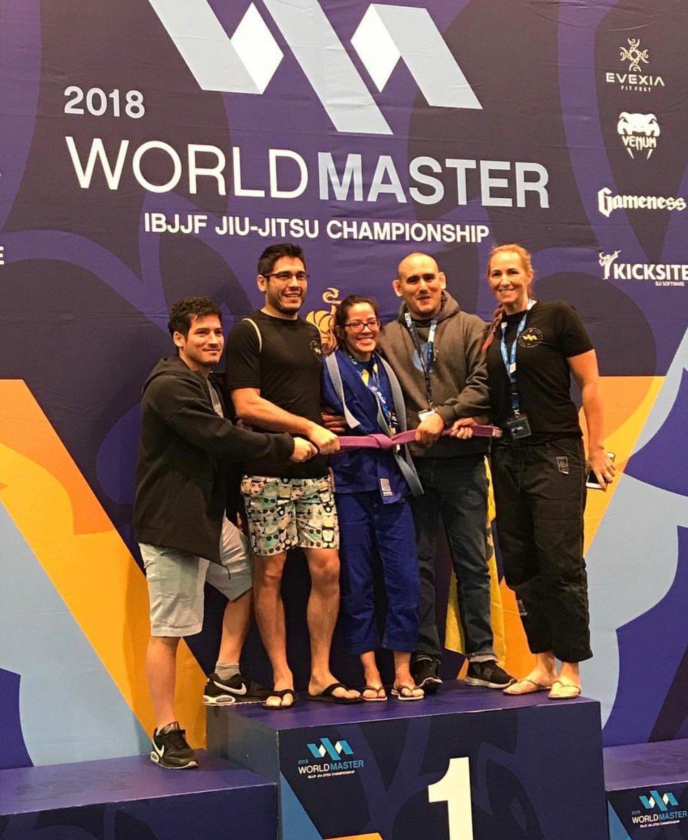 ibjjf world master champion