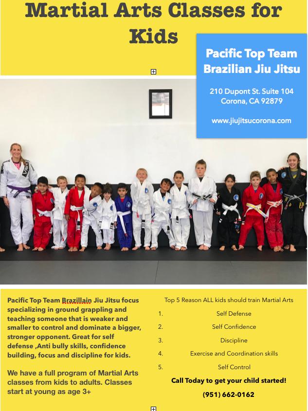 Jiu jitsu classes corona