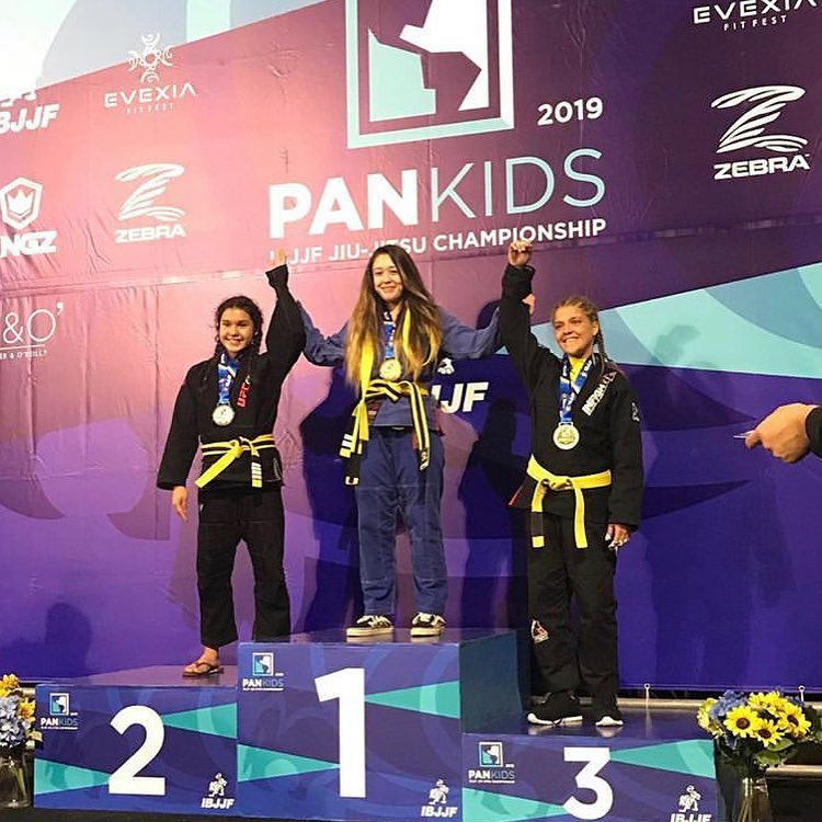 IBJJF Pan Kids champion