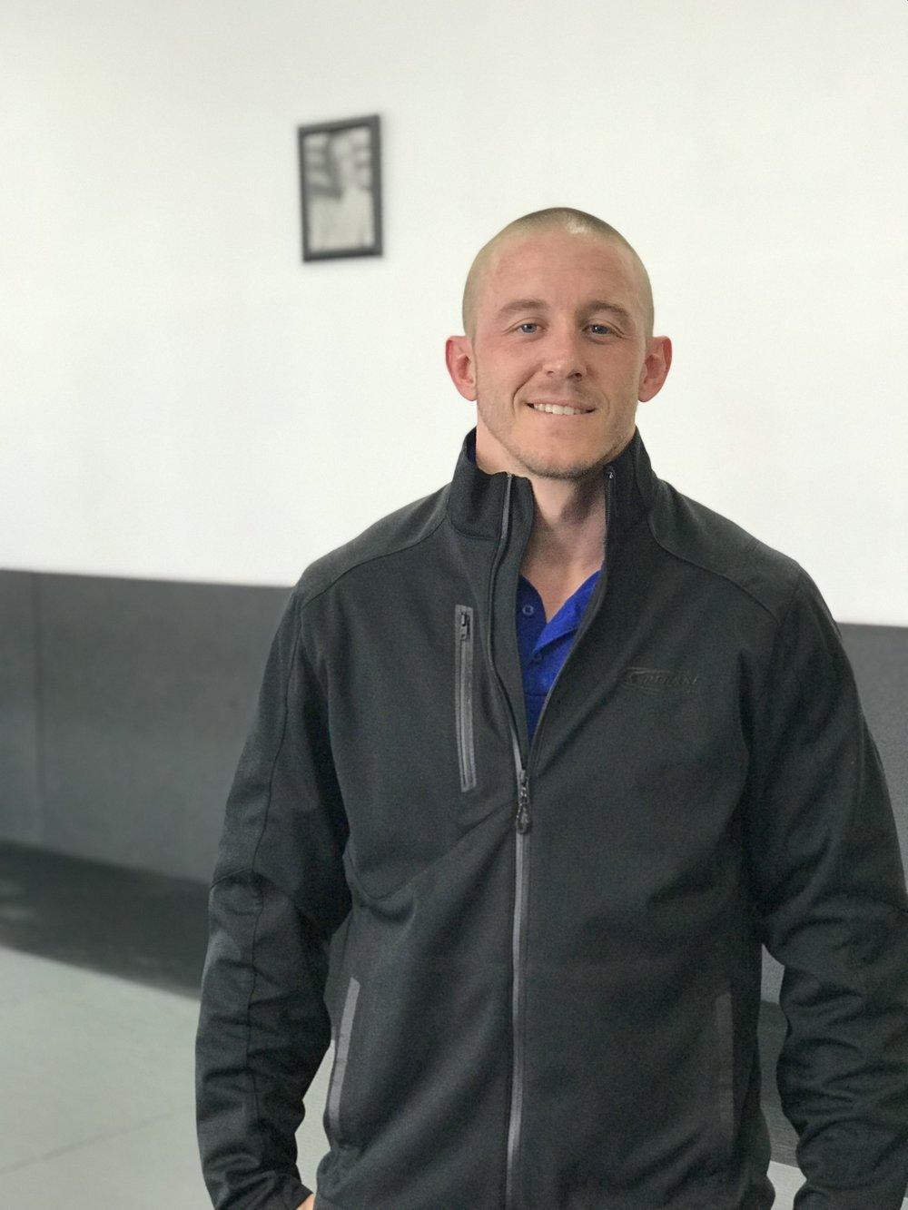 Brazilian Jiu Jitsu student in corona
