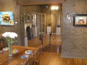 Interior view of phICA institutional collaborator Shemer Art Center, Phoenix
