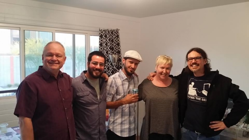 Ted Decker, Felipe Goes, Bassim Al-Shaker, Cathryn Hugger, Dain Gore, Combine Studios  12-6-14