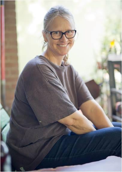 Randy Luckey, Portrait of Carolyn Lavender, 4-15.JPG