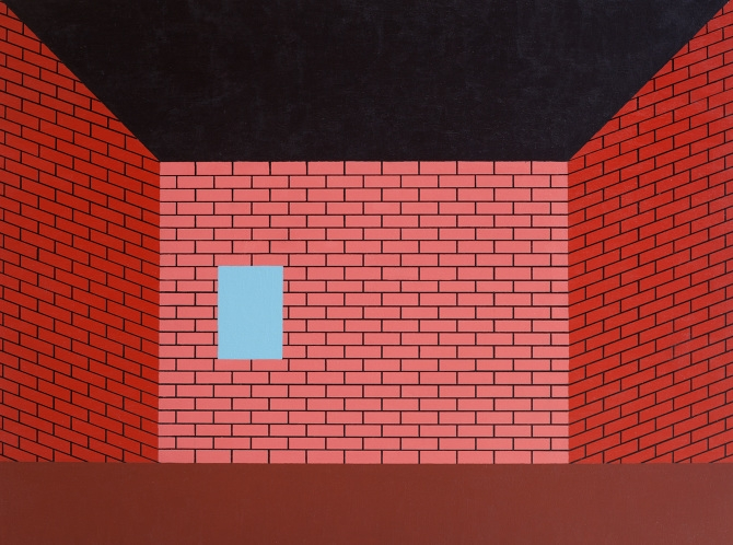Brando White,  Untitled (Brick Room) , 2014