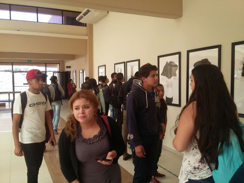 Exhibition opening, 5-11-16  Photo credit: CIAAC