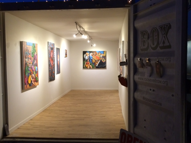 Maral Tabrizi opening, 4-18-14