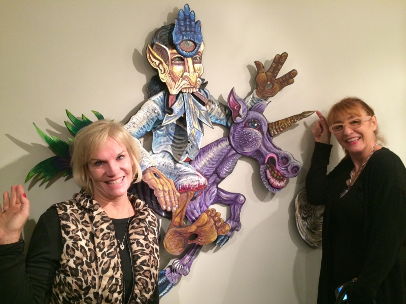 Denise Decker, Kathleen Bishop, First Friday, 12-5-14