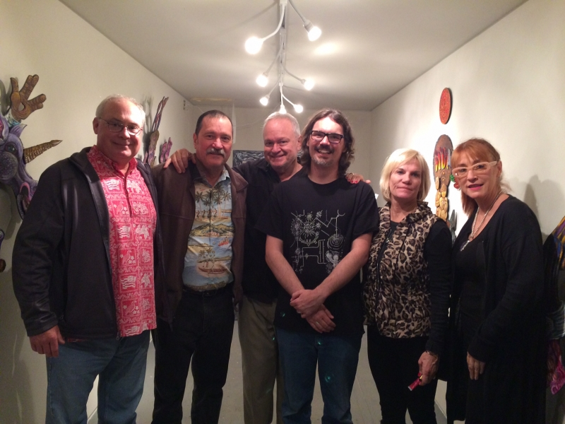 Steve Shields, Dave Decker, Ted Decker, Dain Gore, Denise Decker, Kathleen Bishop, First Friday, 12-5-14