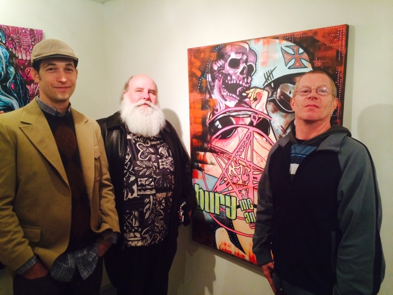 Photo Credit: Ted Decker Matt Rayman, Daniel DiFondi, Robert Pase, Jason Dinger install, 1-16-15