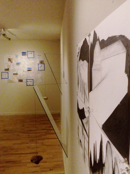 Displaced Four Times, Installation View 4