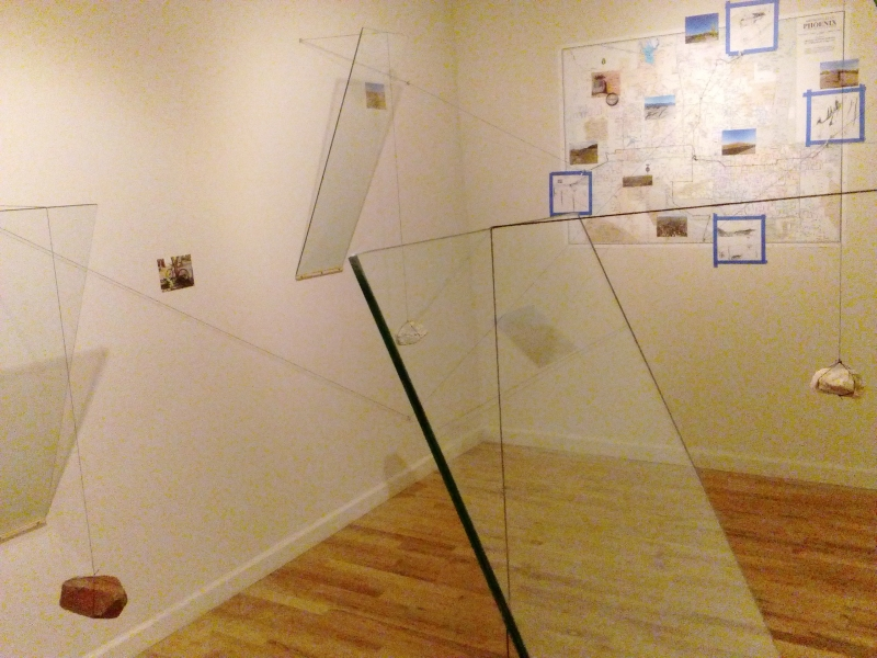 Displaced Four Times, Installation View 6