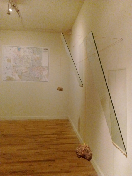 Displaced Four Times, Installation View 11