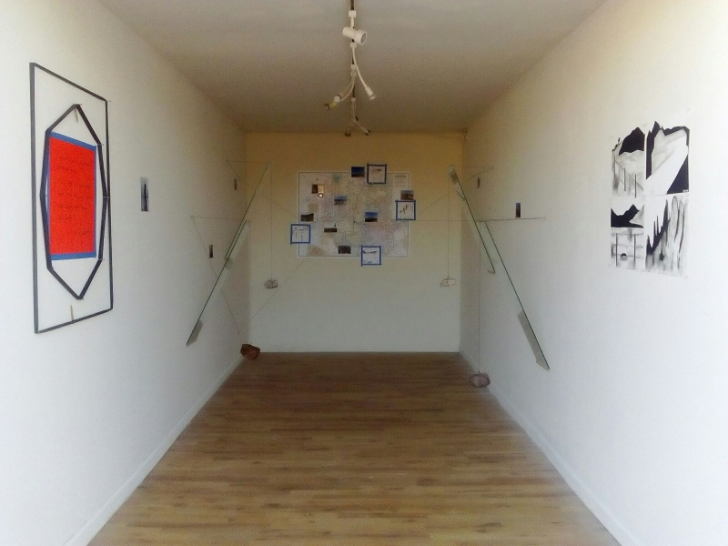 Displaced Four Times, Installation View 12