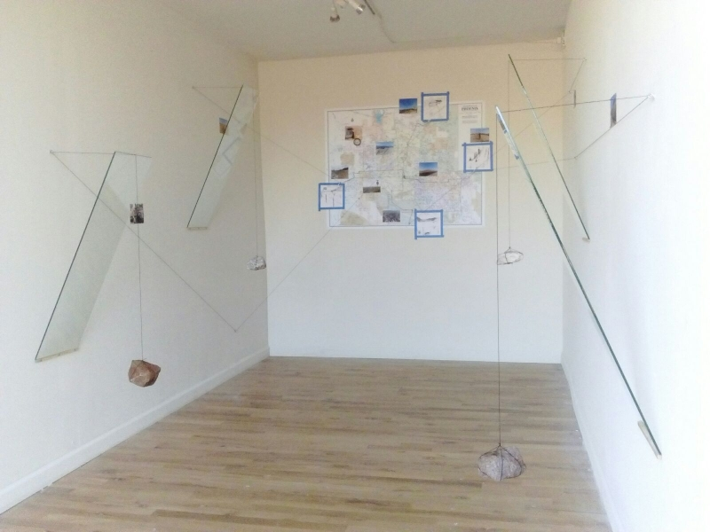 Displaced Four Times, Installation View 13