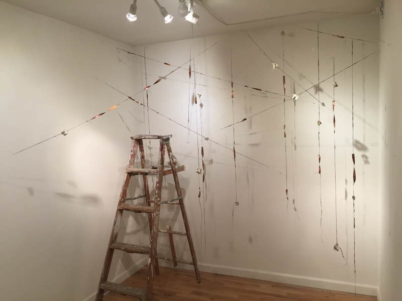 Installation progress, 2-15-16