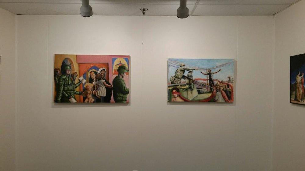 Darrin Armijo-Wardle, wall installation, north, 1-16-16.JPG