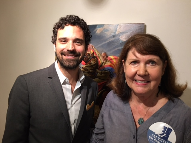 Darrin Armijo-Wardle with Congresswoman Ann Kirkpatrick (D-AZ1)