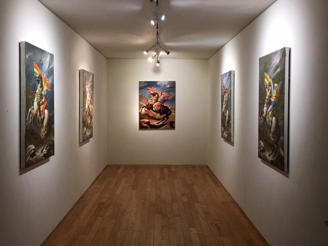Darrin's installation, 10-20-16