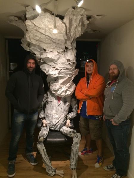 Hoodies - Tulio Pinto, Takashi Hara, Cory Slawson, 11-6-15