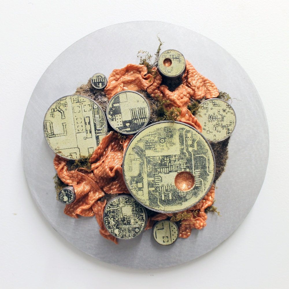Christine Cassano, Smelter, MM, 12 in Diameter