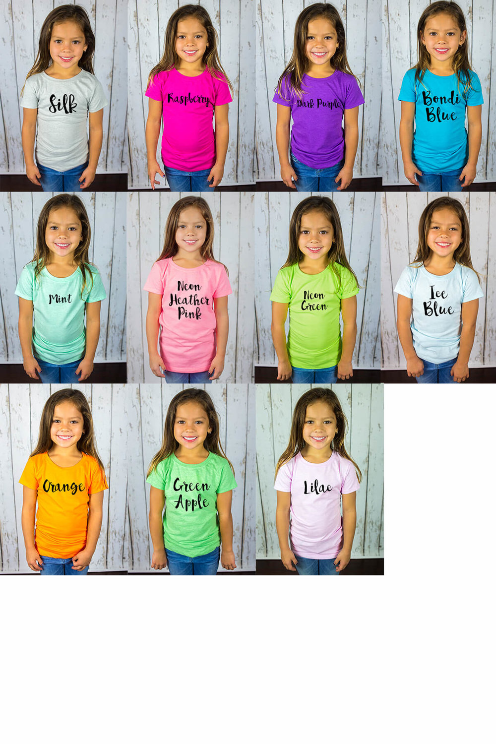 I create kids t shirt for women dont be afraid to wear your kids shirt color chartg nvjuhfo Images