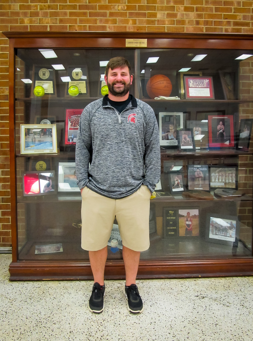 Cecil is in his first year serving as Central Davidson High School's Athletic Director.