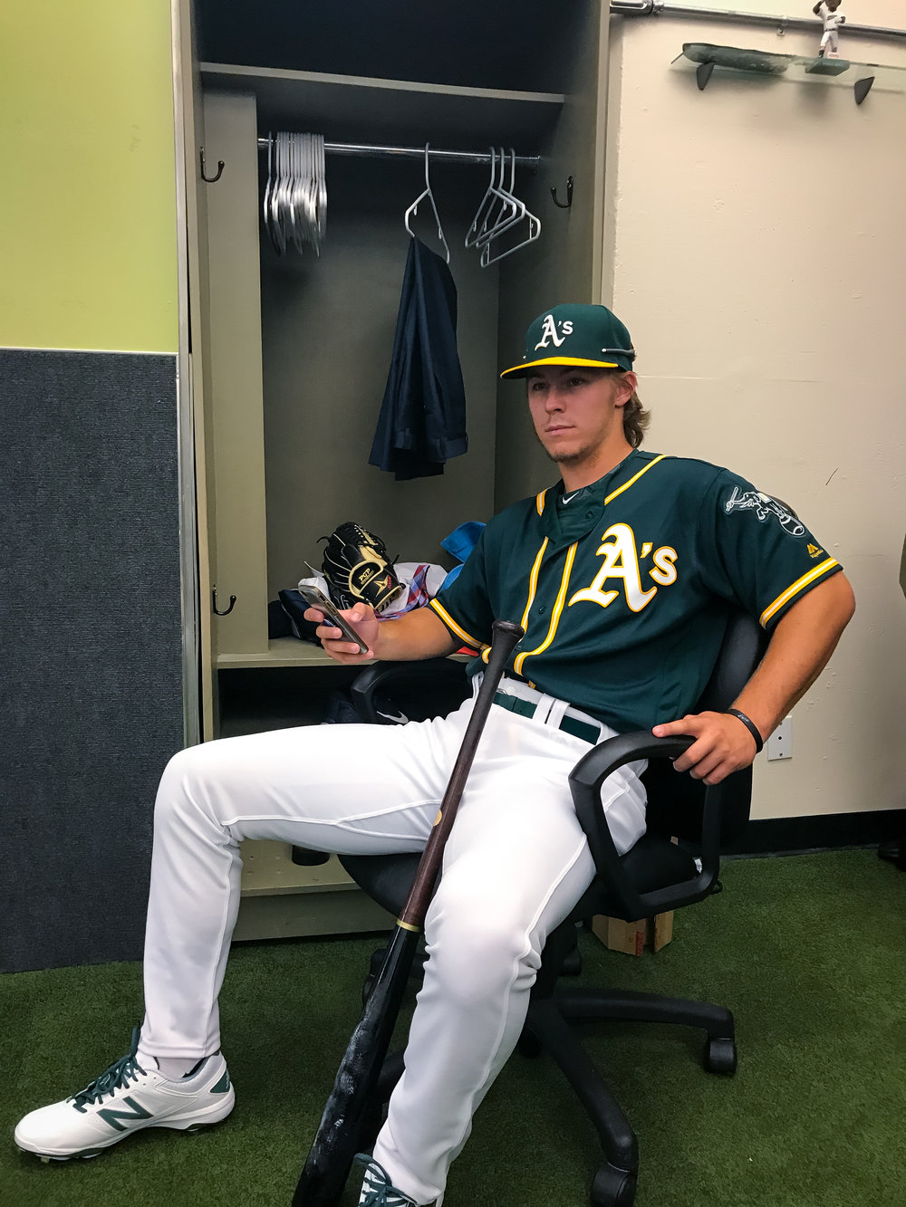 Beck was selected by the Oakland Athletics professional baseball team with the sixth overall pick in the 2016 amateur draft.