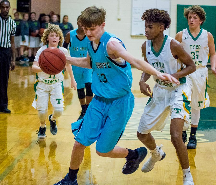 Basketball - Tyro vs. Oak Grove