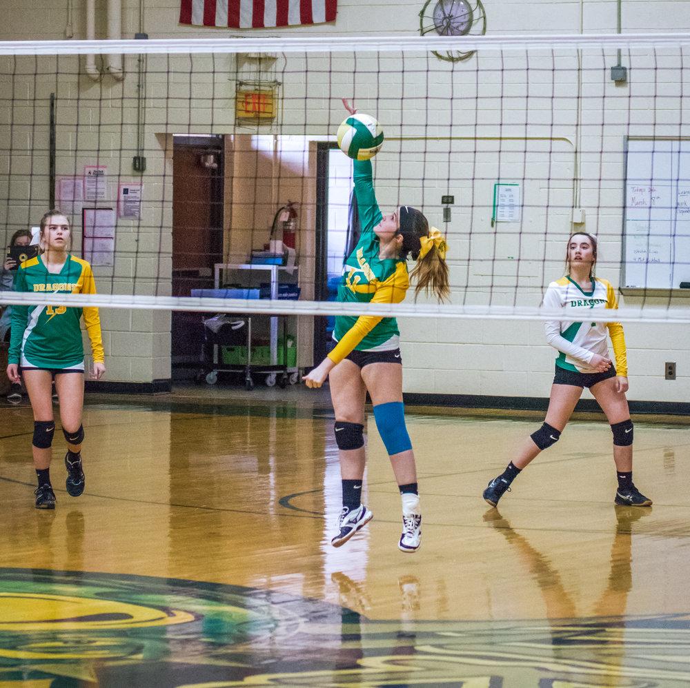 Volleyball - South Davidson vs. Thomasville MS