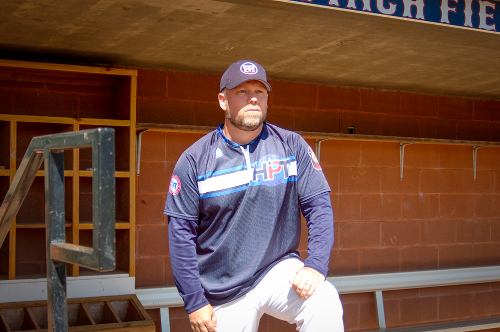 Shore joined the High Point-Thomasville HiToms organization in 2007 as a Post 87 Legion team assistant coach. He has been instrumental in Post 87's resurgence over the years.   Photo by Eliot Duke.