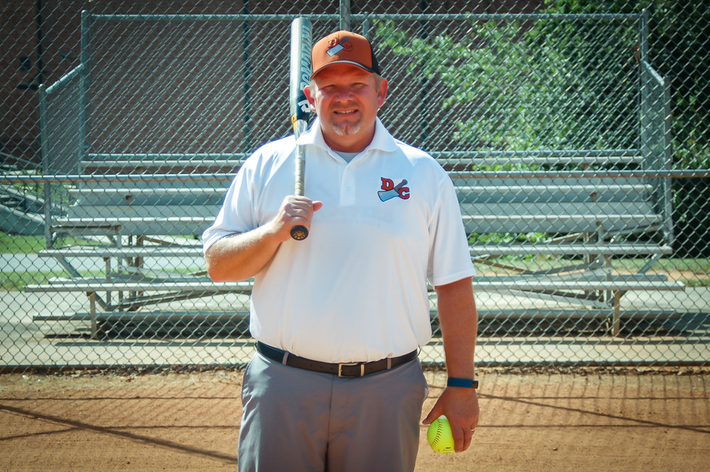 Dale Odom served as head skipper for the first-year Davidson County Legion Post 8 Choppers softball team this summer.